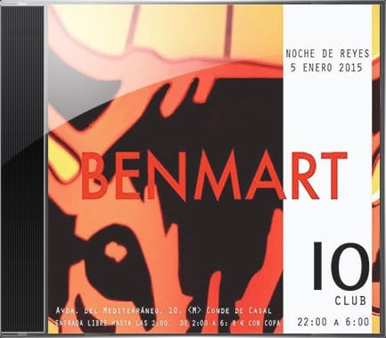 BenMart 10Club Cover. Electrónica, Techno, House