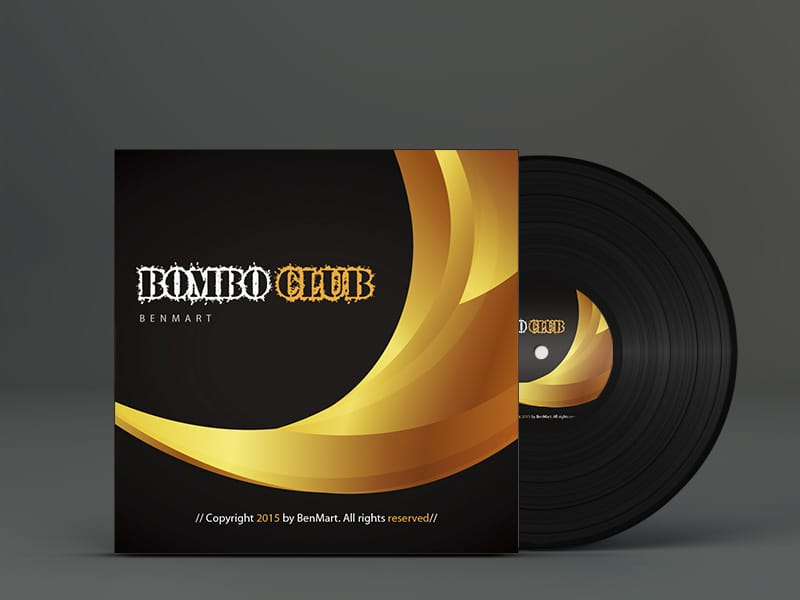 BenMart Bombo Club Vinyl Cover. Electrónica, Techno, House
