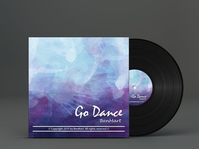 Go Dance Vinyl Cover. Electrónica, Techno, House