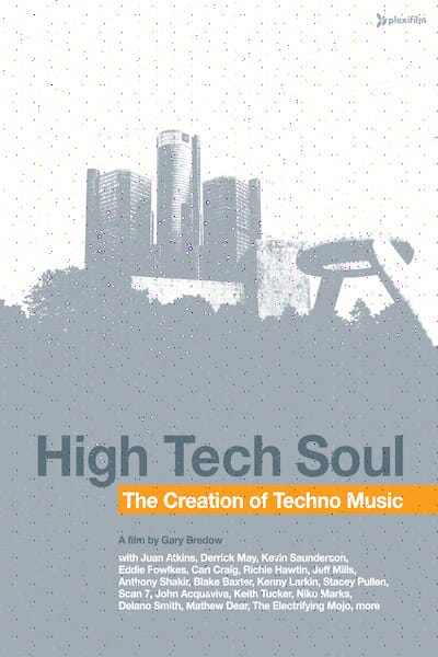 High Tech Soul The Creation of Techno Music Cover