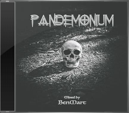 Pandemonium Cover. Electrónica, Techno