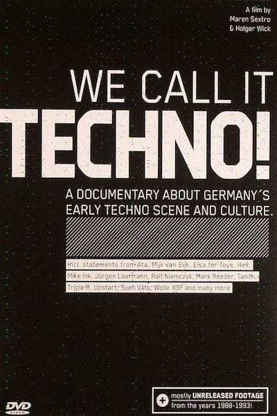 We Call it Techno Cover